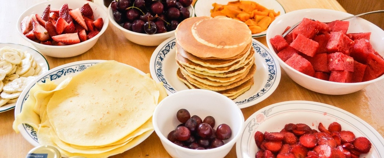 Giving a toss about the climate: How bad is your pancake?